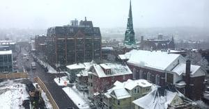 Burlington snow
