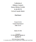 Forward Capacity Market